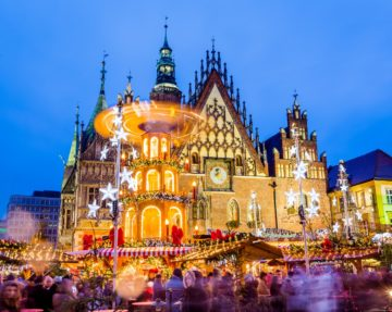 wroclaw christmas party